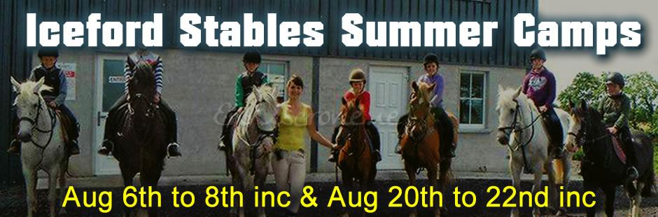 Iceford Stables Summer Camps -  9am to 2pm daily