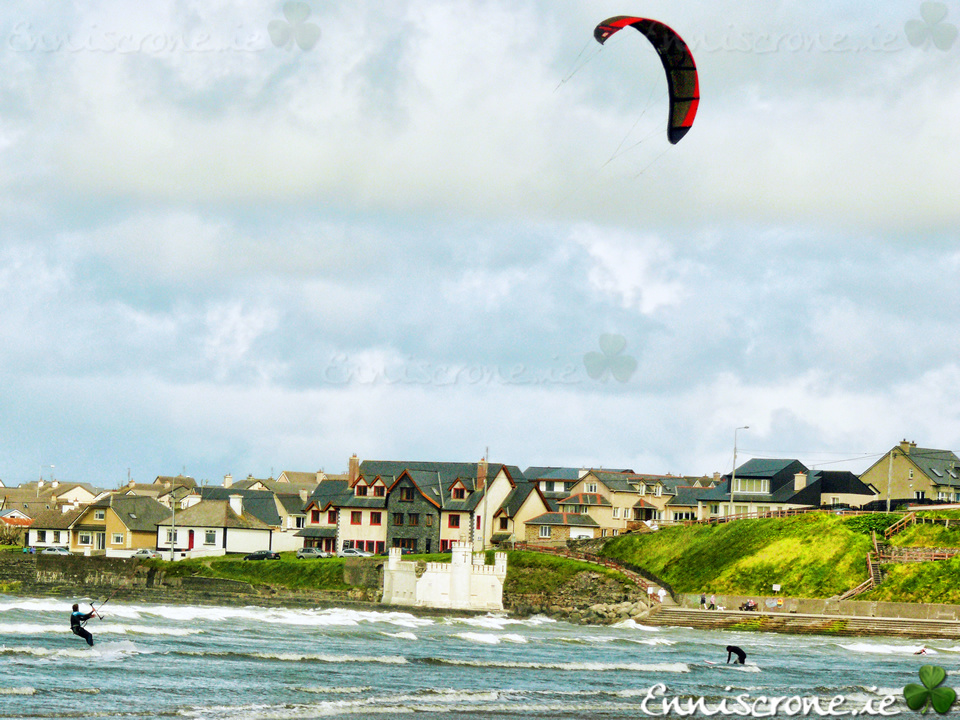 Kitesurfing in Enniscrone